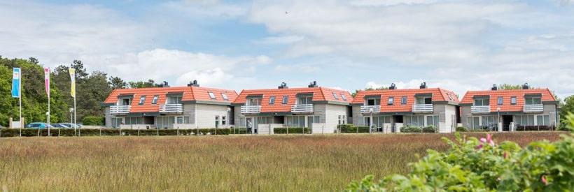 Appartementkomplex Bosch en Zee © Roompot Parks