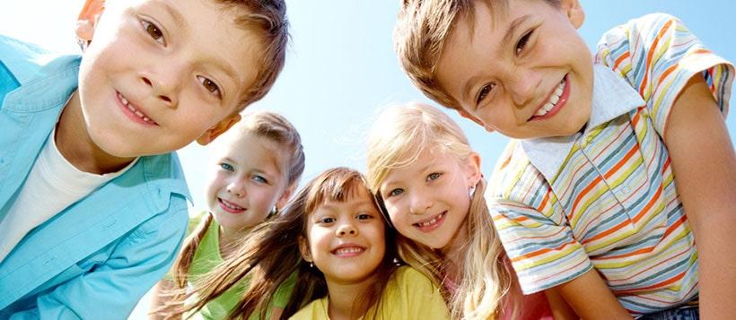 Kinder im Ferienpark