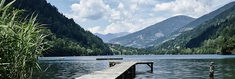 Alpensee in Kärnten