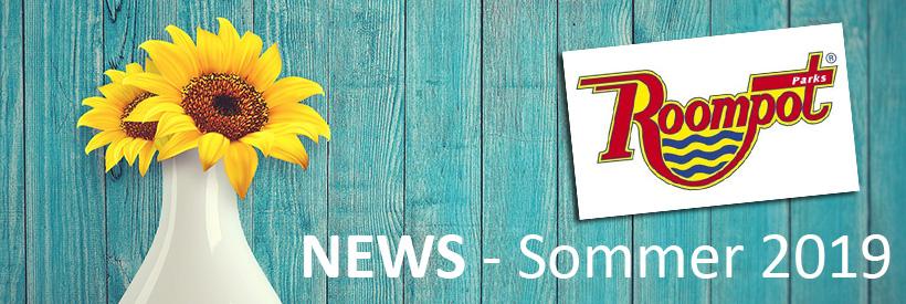 Roompot Parks - News Sommer 2019