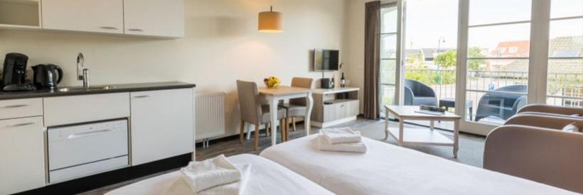 Roompot Strandplevier Hotelsuites © Roompot Parks