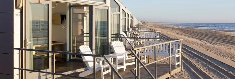 Strandhuisjes Julianadorp © Roompot Parks