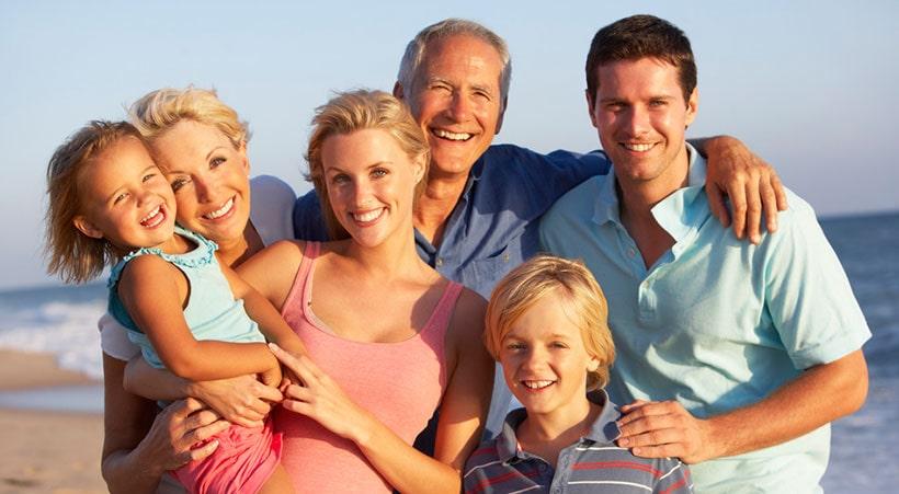 Urlaub mit Großfamilie
